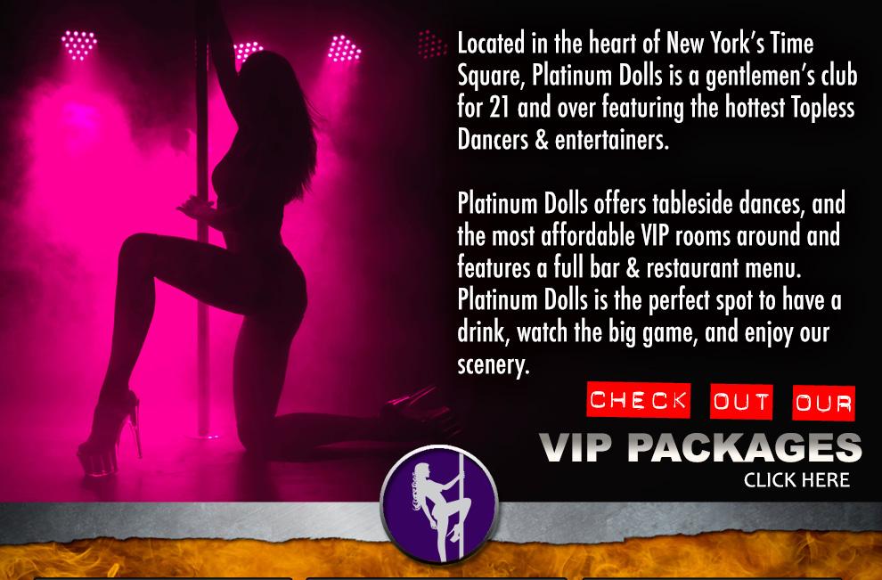 Platinum Dolls | NYC Gentlemen's Club & Sports Bar